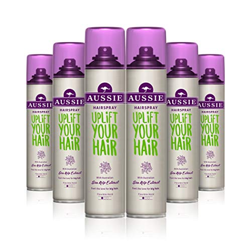 Aussie Uplift Your Hair Hairspray, for Flat Hair, 250 ml - Pack of 6