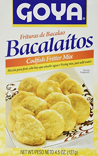 Goya Bacalaitos -Codfish Fritter Mix 4.5oz (2pack)