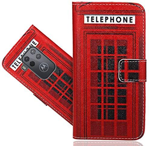 CaseExpert Motorola One Zoom Handy Tasche, Wallet Case Flip Cover Hüllen Etui Hülle Ledertasche Lederhülle Schutzhülle Für Motorola One Zoom/Motorola One Pro