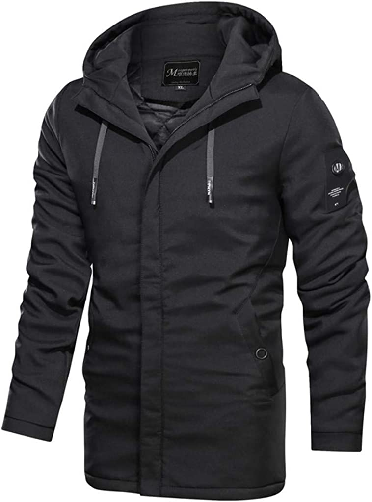 DIOMOR Fashion Outdoor Winter Long Quilted Snow Jacket Down Coat with Removable Hood Thicken Warm Puffer Parkas