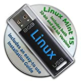 Linux Mint 15 on Bootable 8GB USB Flash Drive and DVD set - 32-bit and 64-bit.