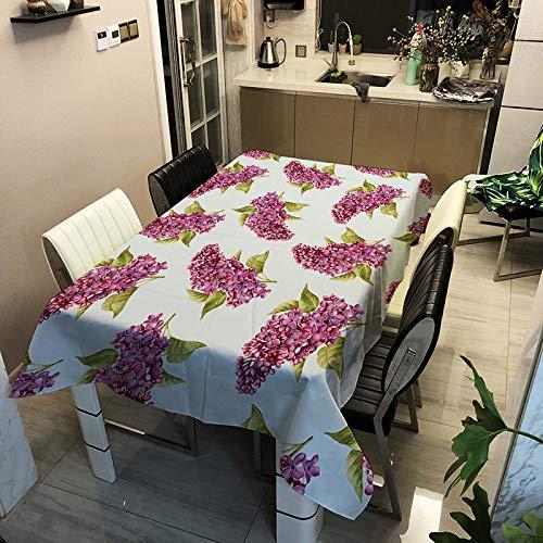 SHANGZHAI Europäischen klassischen Stoff, Blume Polyester Tischdecke, Haushalt rechteckige Tischdecke, Kaffeetischdecke ZB2130-11 60x60cm