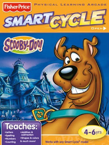 Fisher-Price Smart Cycle [Old Version] Scooby Doo Software Cartridge