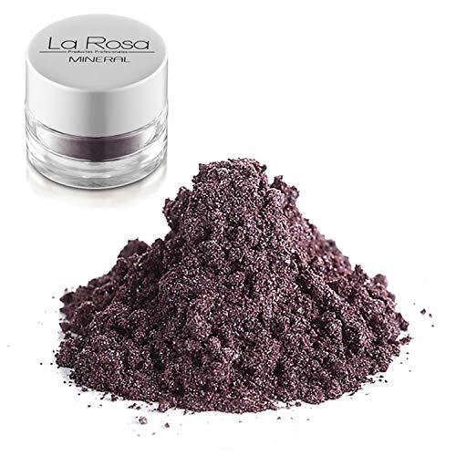 La Rosa maquillaje mineral nº 14 fluorite sombra color berenjena, morado tirando...