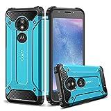 J&D Case Compatible for Motorola Moto E5 Play Case, Heavy