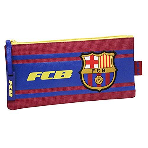 FC Barcelona–Estuche escolar Simple rayas FC Barcelona Copa de Europa 2016