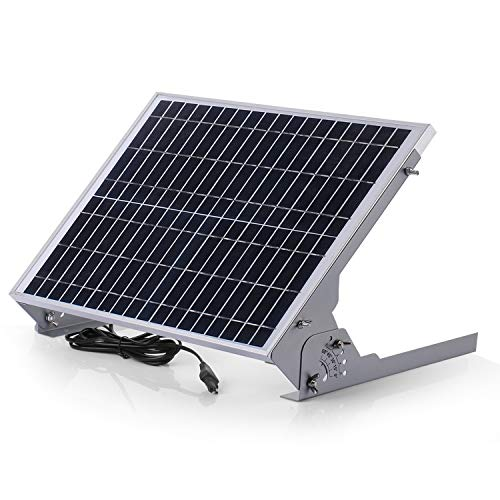 SUNER POWER 12V Waterproof Solar Battery Trickle Charger & Maintainer - 20...