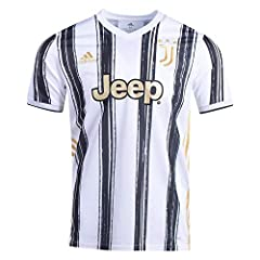 Adidas Mens Juventus Home Soccer Jersey White/Black XL