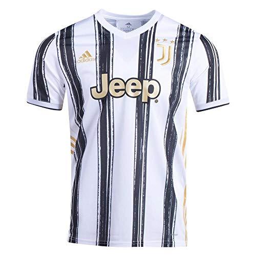adidas Men's Soccer Juventus 20/21 Home Jersey (XX-Large) White/Black