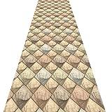 Bagno rug Cucina Moquette Corridori di Slittamento Non Porta Matt Indoor Carpet corridori della Moquette Scuola Corridoio Moderna (Size : 1×8m)
