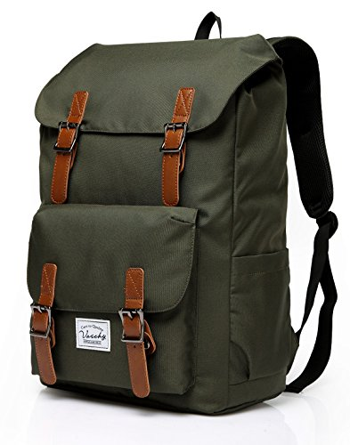Great Features Of Backpack for Men Women,Vaschy Casual Water-resistant College School Backpack