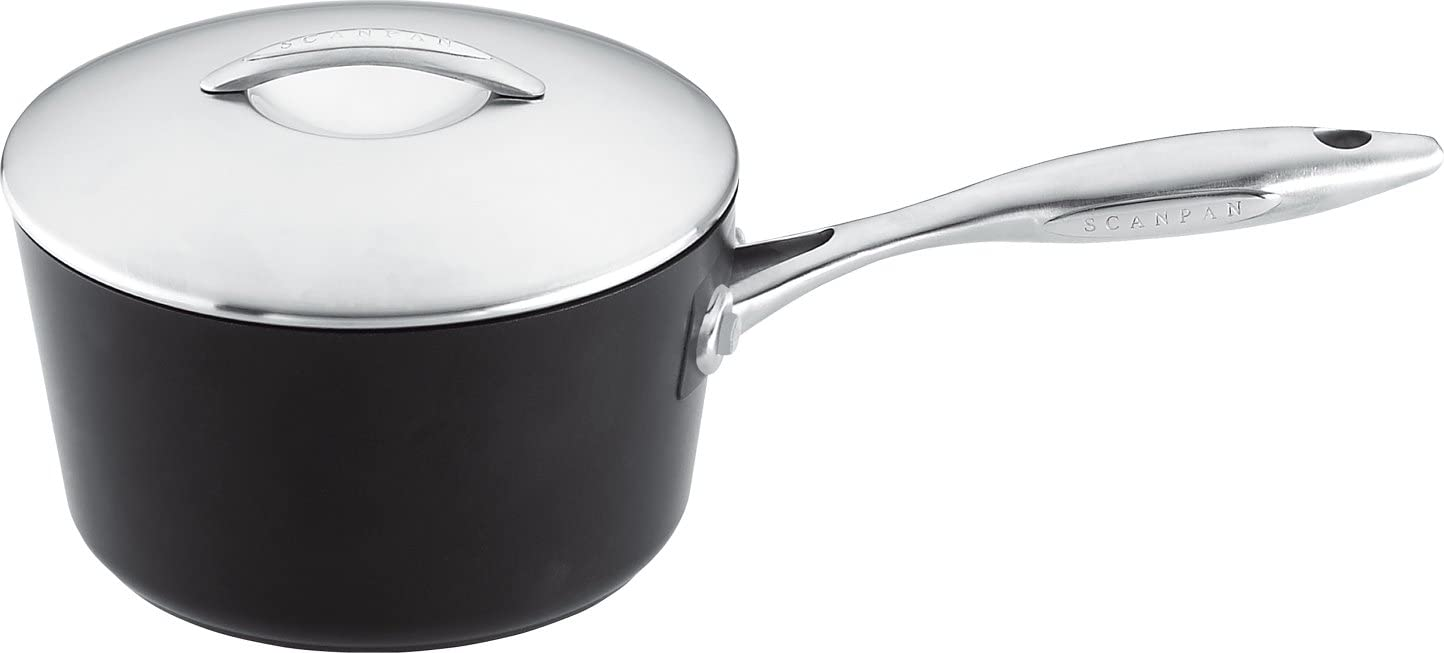 Scanpan Professional 1-Quart Saucepan Covered specialty shop Year-end gift