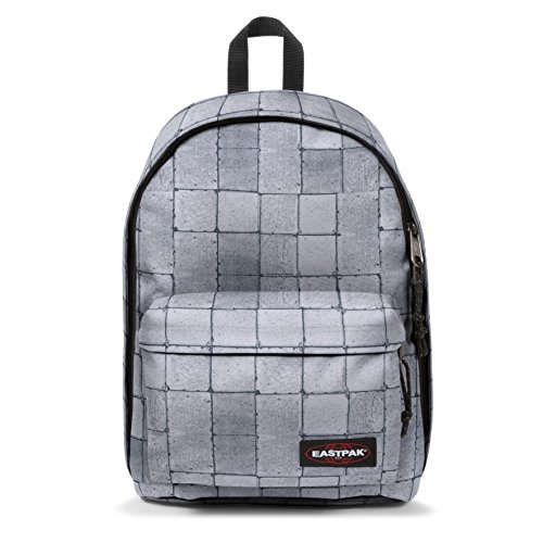 Eastpak Out Of Office Rucksack, 44 cm, 27 L, Grau (Cracked White)