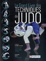 Le grand livre des techniques de judo de Frédéric Demontfaucon