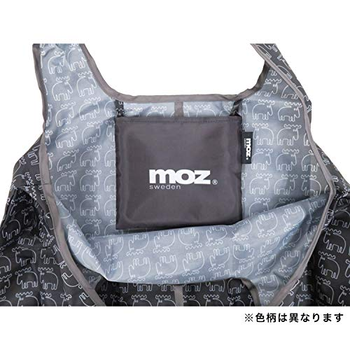 山八商事mozショッピングバッグブラックバッグ:約縦40×横53cm