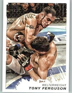 2018 Topps UFC Chrome Base #5 Tony Ferguson Lightweight