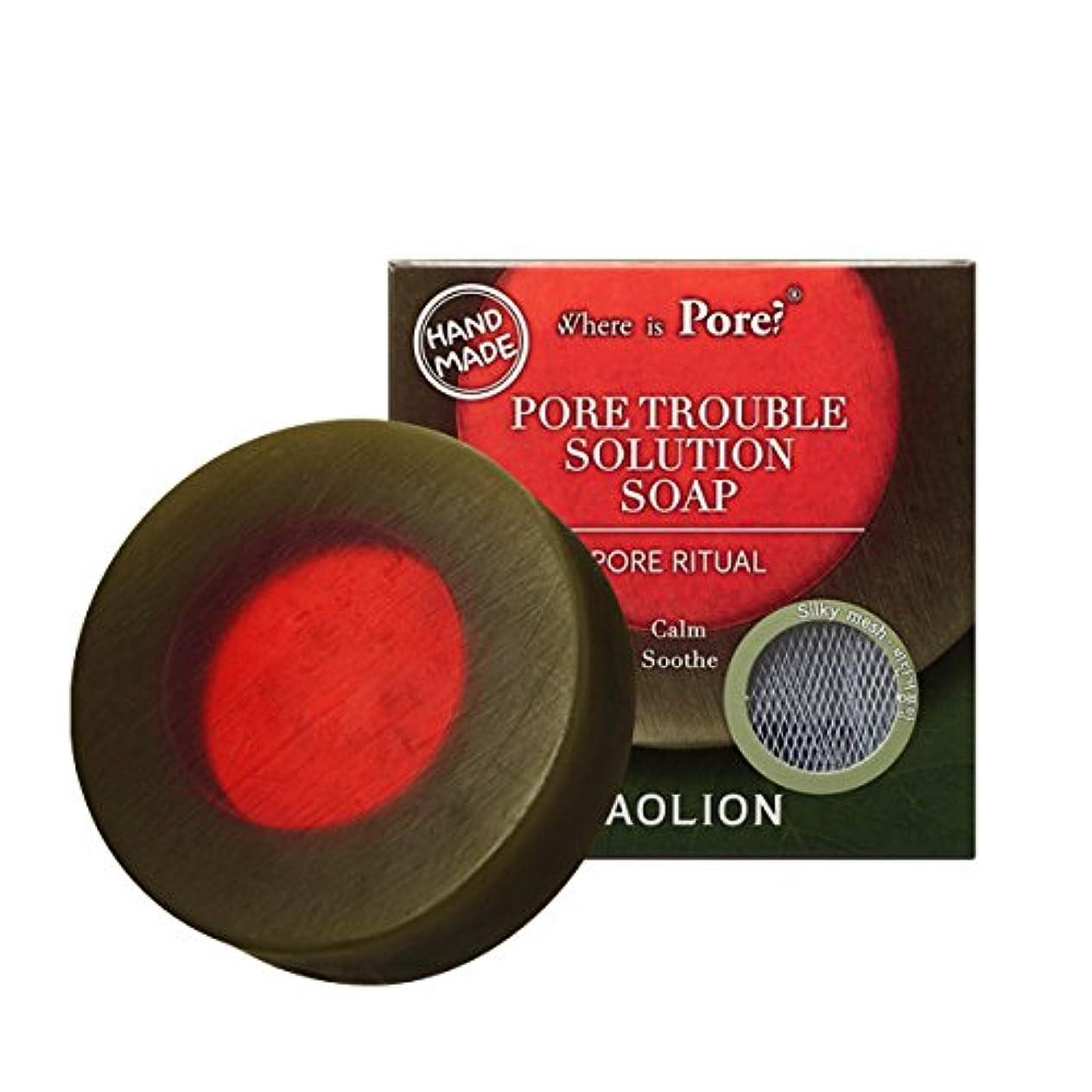 差別的口頭独特のCAOLION Pore Trouble Solution Soap トラブル専用ソープ [海外直送品] [並行輸入品]