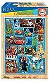 Educa 18881 Disney Pixar Wooden Puzzle Infantil de Madera de 100 Piezas. +6 años. Ref