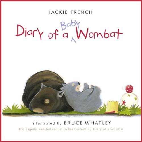 Diary of a Baby Wombat audiobook cover art
