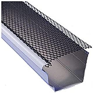 Spectra Metal Sales GS442FM25 Armour Lock Gutter Guard, Corrosive Resistant Powder Coated Steel, Easy to Install, 6