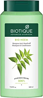 Biotique Bio Neem Margosa Anti Dandruff Shampoo and Conditioner, 340ml