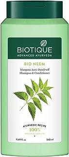 Biotique Bio Neem Margosa Anti Dandruff Shampoo & Conditioner, 340 ml