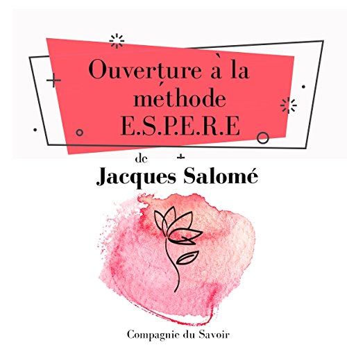 Ouverture à la méthode ESPERE audiobook cover art