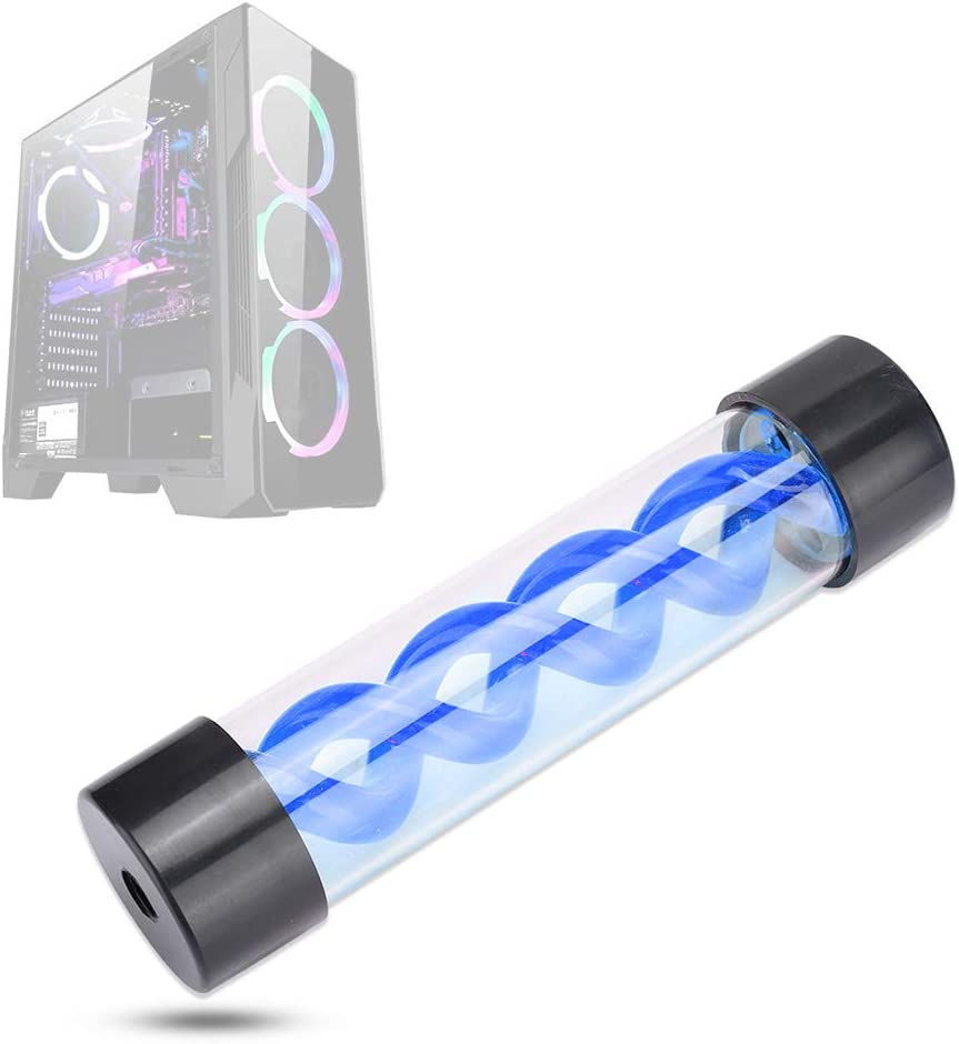 200mm Water Cooling Reservoir G1 4 Coo Cylindrical 5 popular Thread Virus Max 88% OFF