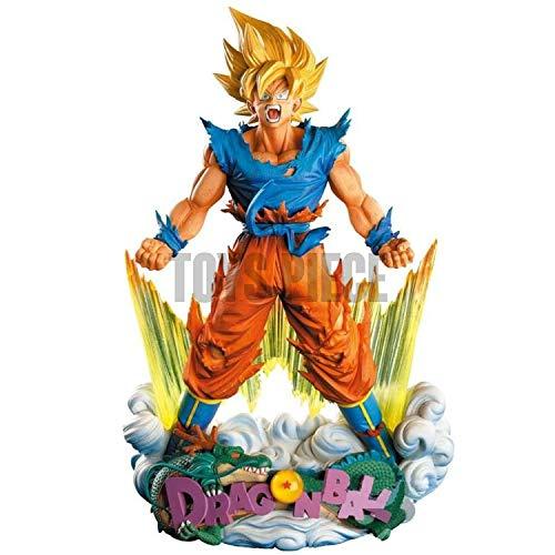 Dragon Ball Z Anime Son Goku Super Saiyajin Figur (DBZ) | 23cm