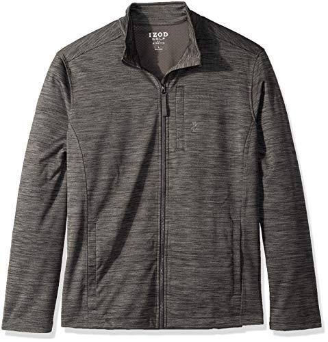 IZOD Men's Water Proof Jacket, Asphalt, X-Large