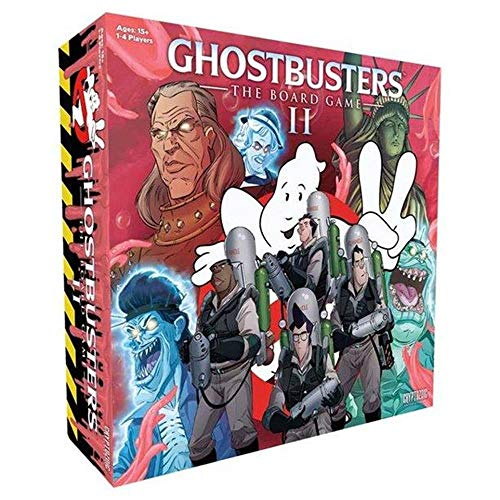 Unbekannt Cryptozoic Entertainment CRY02103 Ghostbusters: The Boardgame II, Mehrfarbig