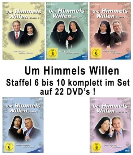 Um Himmels Willen Staffel 6-10 Set (22 DVDs)