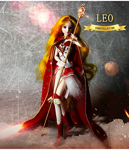 Mystery Magic Girl Fortune Days BJD Doll 12 inch Twelve Constellation Series Doll (Leo)