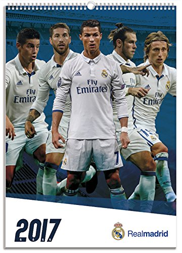 2017 Real Madrid A3 Calendar