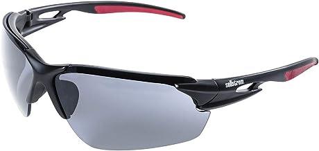 Sellstrom Sleek, Slip-Resistant, Anti-Fog Hard Coating Protective Eyewear Safety Glasses, Smoke Lens, Co-Molded Temples, H...