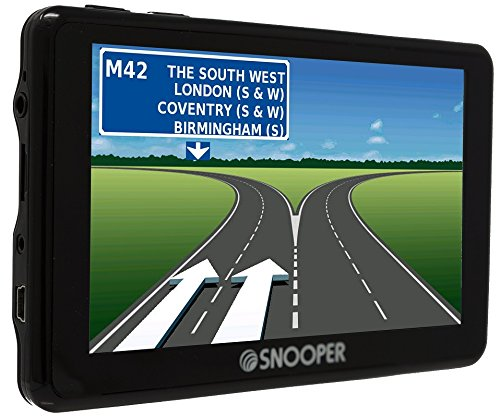 Snooper Ventura SC5900 DVR  Reisemobile und Wohnwagen Satellitennavigationssystem mit HD-Dashcam und Frontkamera