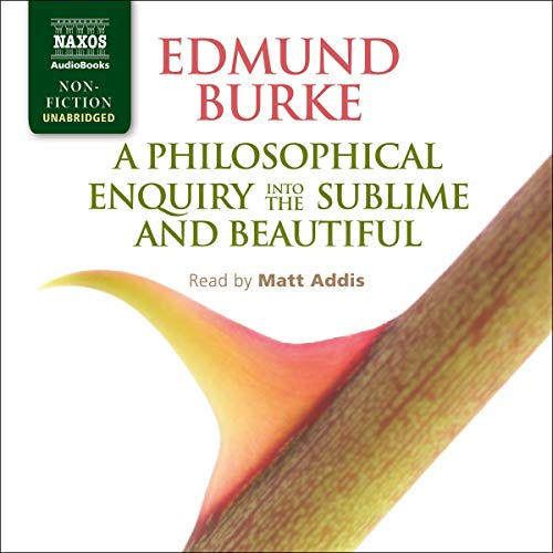 A Philosophical Enquiry into the Sublime and Beautiful cover art