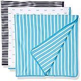 talla /única Essentials Pack de 3 mantas para beb/é
