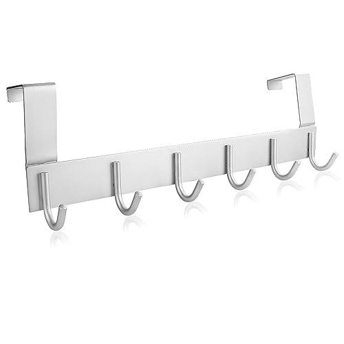 Hooks Shelf Over Door Clothing Hanger Rack Cabinet Door Loop Holder Shelf For Home Bathroom Kitchen Drip-Dry Bathroom Fixtures Back To Search Resultshome Improvement