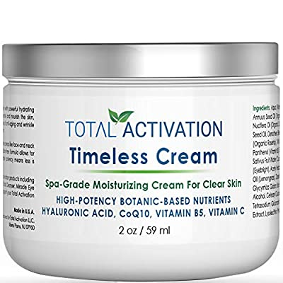 Anti Wrinkle Face Cream Eye Cream and Hand Cream Rapid Blackhead Remover Day Night Moisturizer for Women All Day Face Mask for Dry/Oily/Sensitive Skin compare with Hyaluronic Acid Serum 2 oz from Total Activation