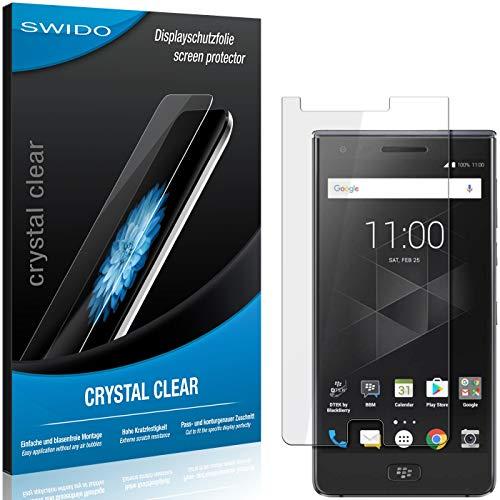SWIDO Schutzfolie für BlackBerry Motion [2 Stück] Kristall-Klar, Hoher Festigkeitgrad, Schutz vor Öl, Staub & Kratzer/Glasfolie, Bildschirmschutz, Bildschirmschutzfolie, Panzerglas-Folie