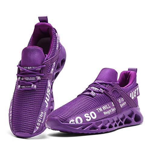 CAIQDM Schuhe Herren Laufschuhe StraßEnlaufschuhe Sneaker Outdoor Sportschuhe Turnschuhe Atmungsaktiv Joggingschuhe Männer Running Shoes Men Walking Schuhe Freizeitschuhe