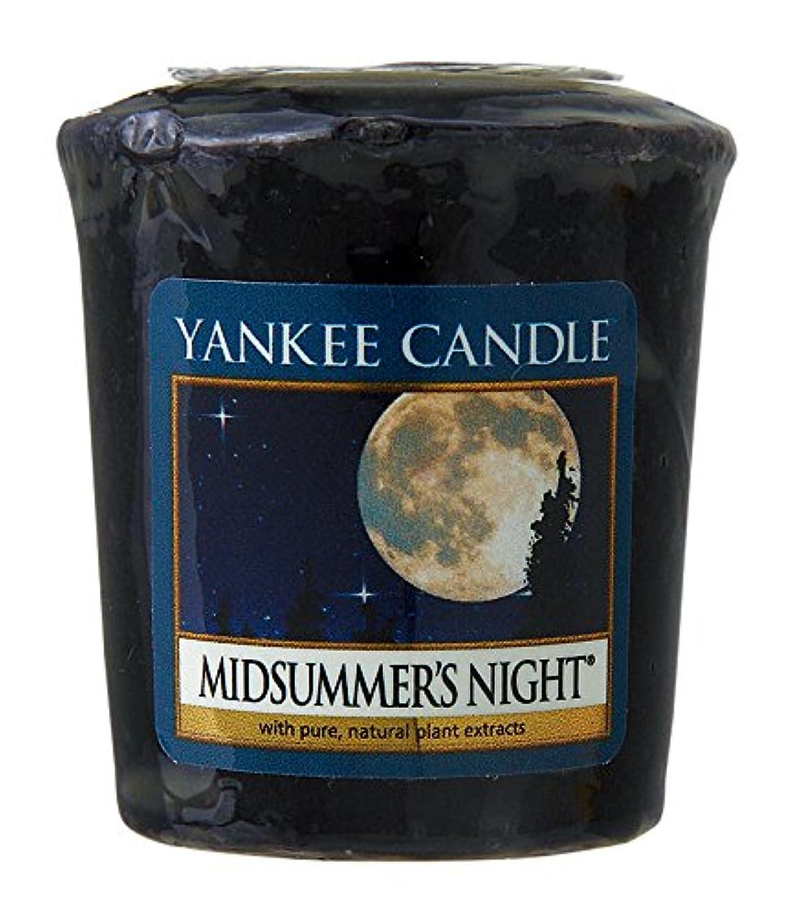 思い出す植物の邪悪なヤンキーキャンドル サンプラー お試しサイズ ミッドサマーナイト 燃焼時間約15時間 YANKEECANDLE アメリカ製