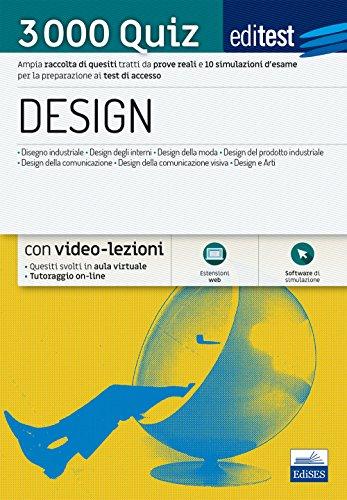 EdiTEST. Design. 3000 quiz. Raccolta di esercizi suddivisi per materia e argomento