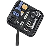 SportsMax Watch Repair Tool Kit with Zippered...