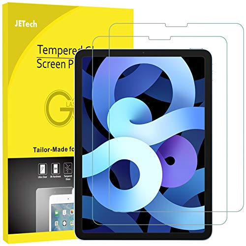 JETech 2-Pack Screen Protector for iPad Air 4 10.9-Inch, iPad Pro 11-Inch,...