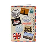 Funda para Pasaporte, Billetera, diseño Divertido - I Love Traveling...
