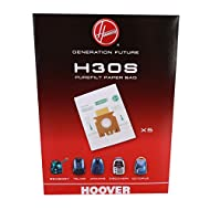 """Genuine replacement h30s dust bag for your vacuum cleaner. This can fit vacuum cleaners sold by different manufacturers and brands. For a full list of models this part/accessory is suitable for click on """"See more product details"""" and then click """"See ..."""