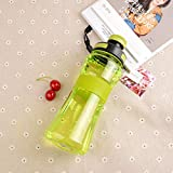 Jusemao Botella de deportes al aire libre libre Bpa botella de agua de deportes 550ml adecuado para fitness, yoga, playa y otros deportes al aire libre-b_550ml