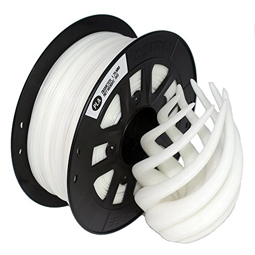 CCTREE 3D Printer Filament ST-PLA (PLA PRO) 1.75MM 1KG Spool For Creality Ender 3 (Weiß)